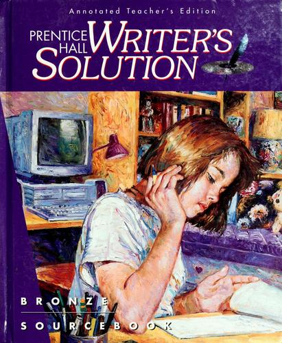 Prentice Hall writer's solution, bronze by