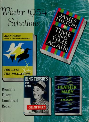 Reader's Digest condensed books by Bing Crosby