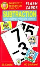Subtraction/Flash Cards With Muppet Reward Stickers (Brighter Child Series) by American Education Publishing