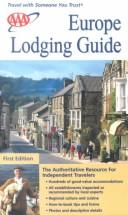 AAA Europe Lodging Guide  by American Automobile Association.