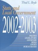 State and Local Government 2001-2002 (State and Local Government) by Thad Lewis Beyle